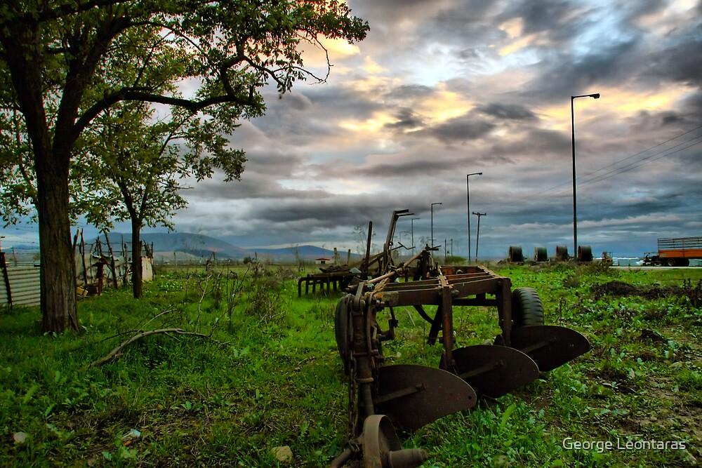 Βreak of plow by George Leontaras