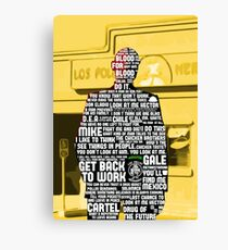 Gus Fring Quotes Canvas Print