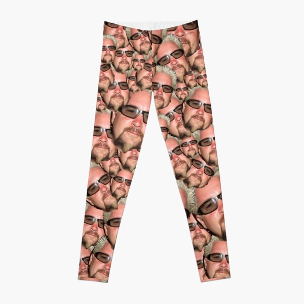 Guy Fieri Face Leggings