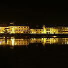 Barnstaple at Night by Mark Langworthy