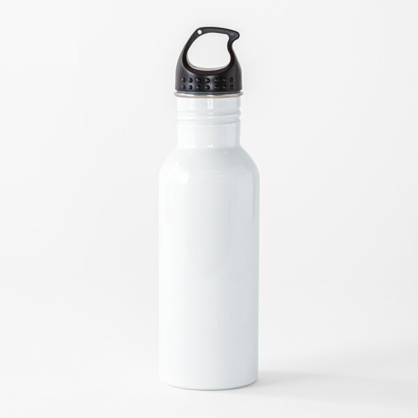 Plain White *Create Your Own! Water Bottle