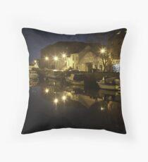 Rolle Quay Barnstaple Throw Pillow