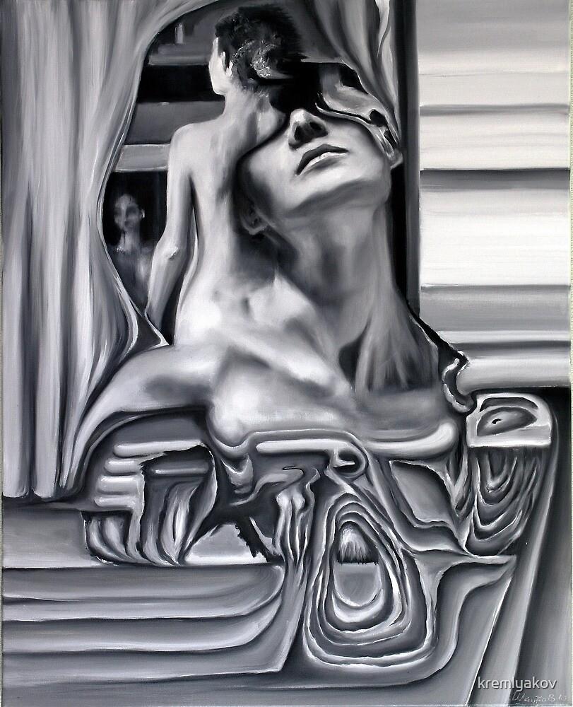 Black-and-white imaginations by kremlyakov