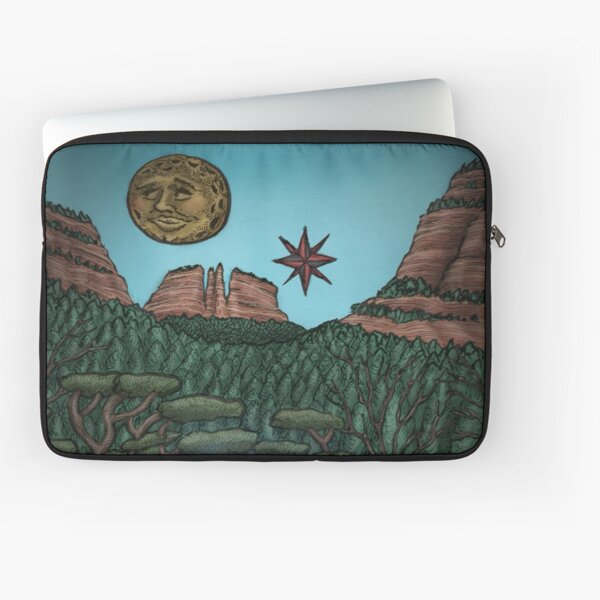 She Illuminates the Path by Ordovich Laptop Sleeve