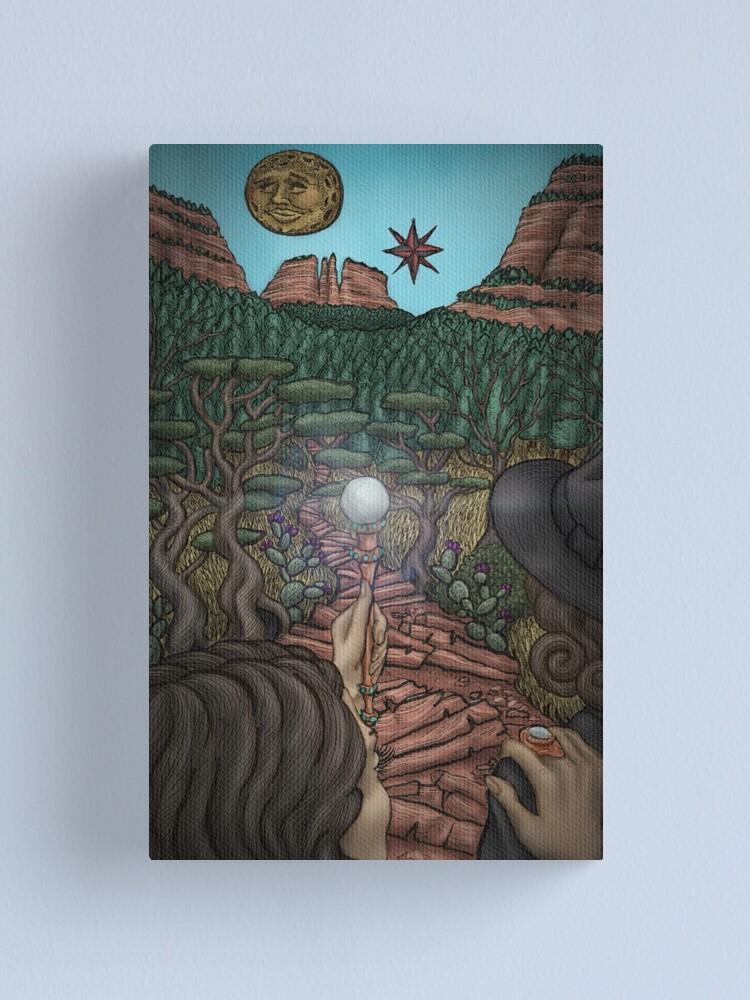 Alternate view of She Illuminates the Path by Ordovich Canvas Print
