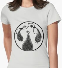 Minoan Dancers Womens Fitted T-Shirt