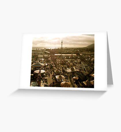 A Fair Ocean View Greeting Card