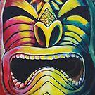 Irie Tiki by DakineFineart