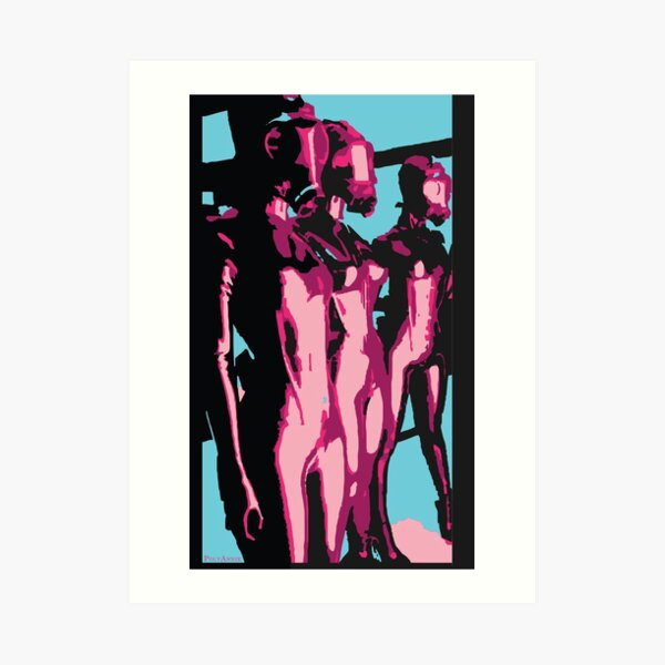 Fem Dom Art Print