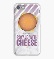 Royale With Cheese - Pulp Fiction iPhone Case/Skin