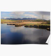 A lake in Connemara Poster