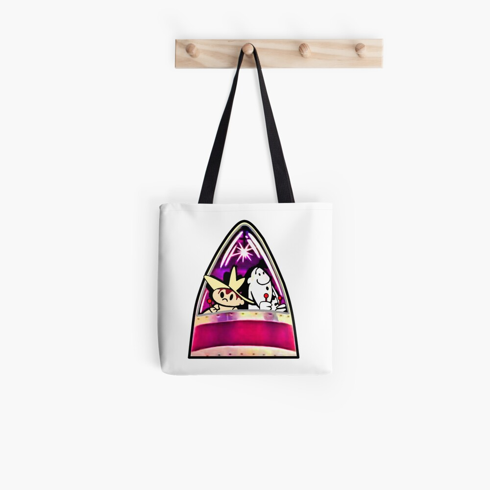Ready for Blast-Off, Scratch & Squeak  Tote Bag