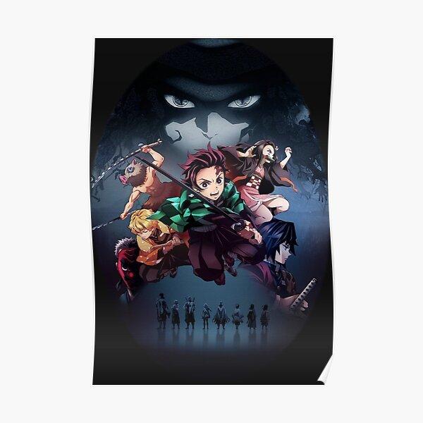 Kimetsu No Yaiba | Tueur de démon Poster