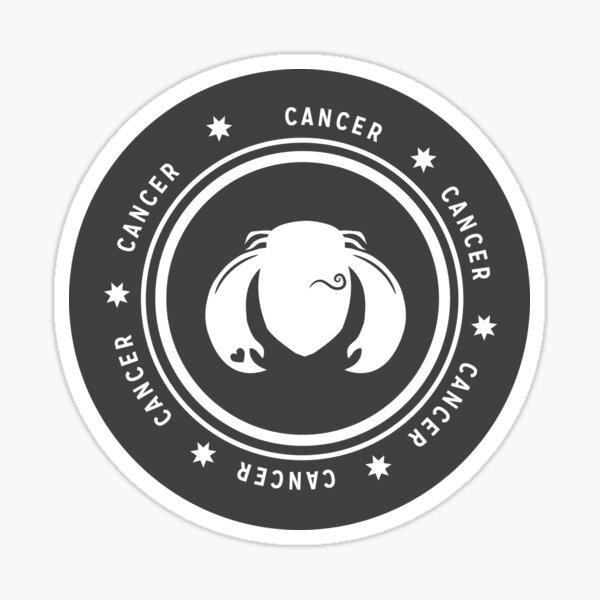 Cancer - Dark Sticker