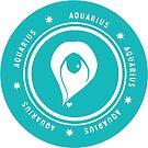 Aquarius - Teal by kylacovert
