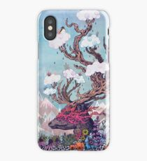 Journeying Spirit (deer) iPhone Case