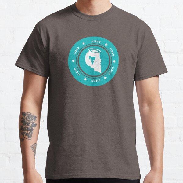 Virgo - Teal Classic T-Shirt