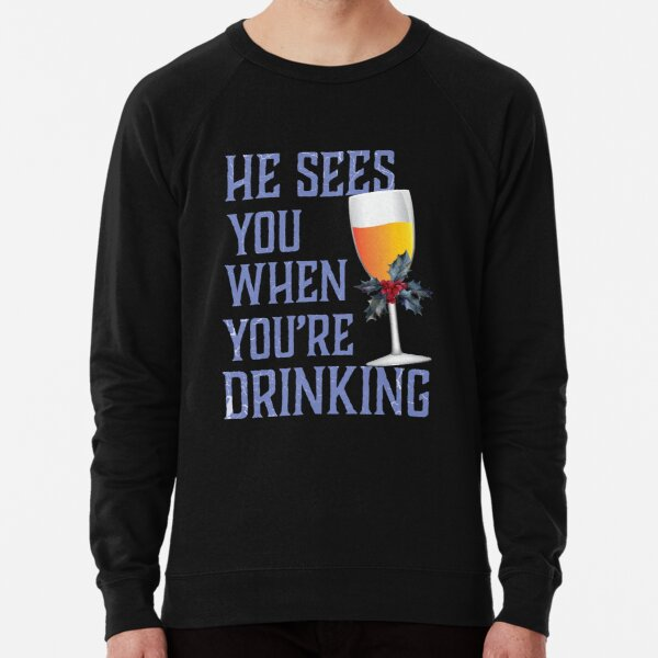 Christmas red wine glass with christmas ornament snowflakes Long Sleeve T-Shirt