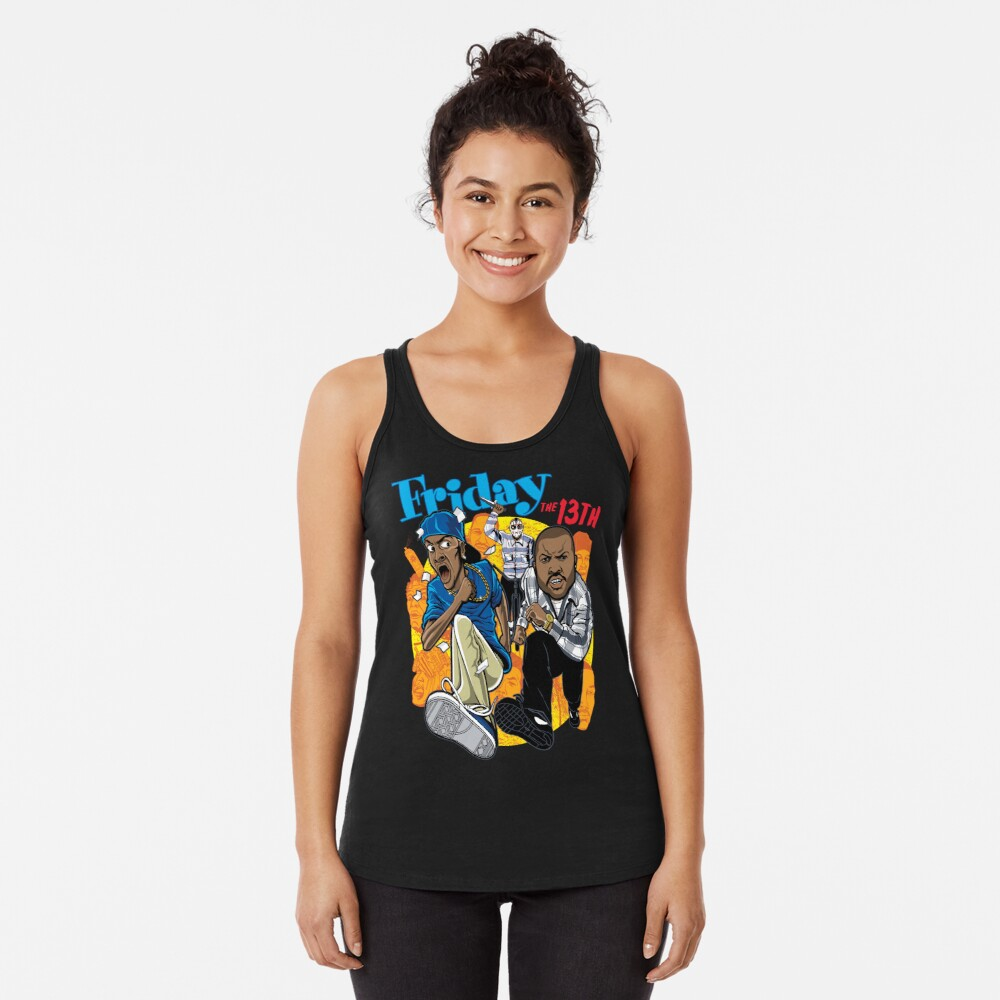 Friday the 13th Racerback Tank Top