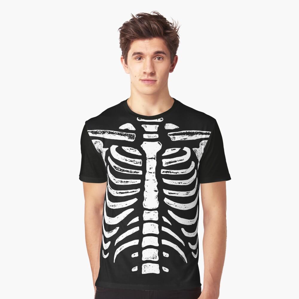 """Skeleton Rib Cage Bones "" T-shirt by ArtVixen | Redbubble"