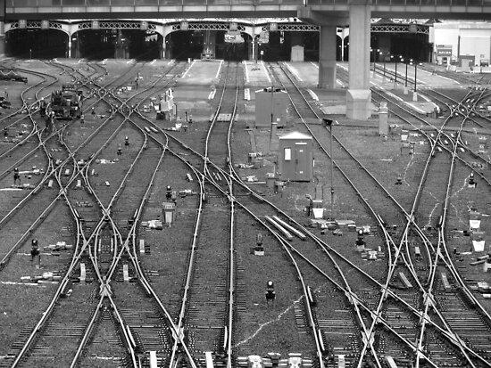 'A Fine Line' - Toronto Union Station by Jonny  McKinnon