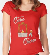 Carlos Women's Fitted Scoop T-Shirt