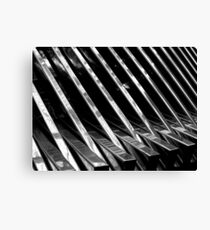 Chrome Ribbed - By. Jonny McKinnon Canvas Print