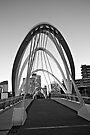 Footbridge over the Yarra by Renee Hubbard Fine Art Photography