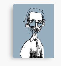 the underground cartoonist Canvas Print