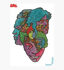 Love Forever Changes Photographic Print