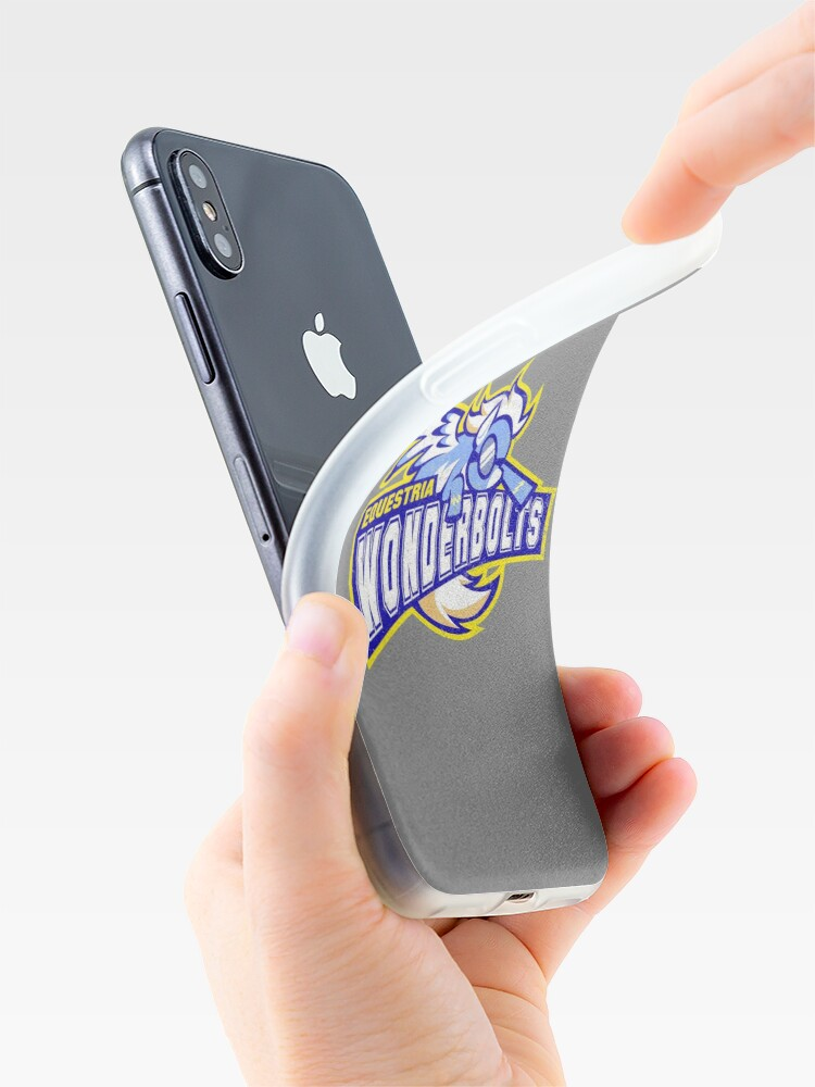 Alternate view of Wonderbolts iPhone Cases & Covers