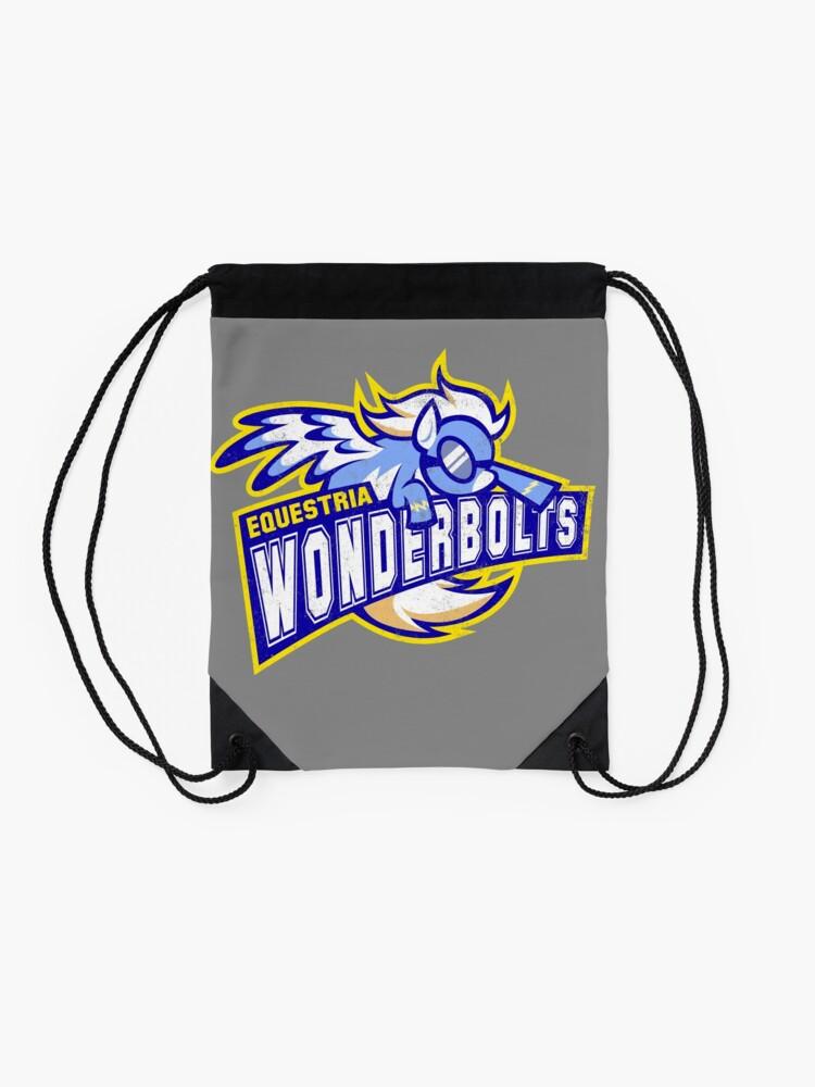 Alternate view of Wonderbolts Drawstring Bag