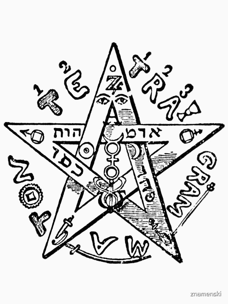 #Pentagram of #Eliphas #Levi #EliphasLeviPentagram by znamenski