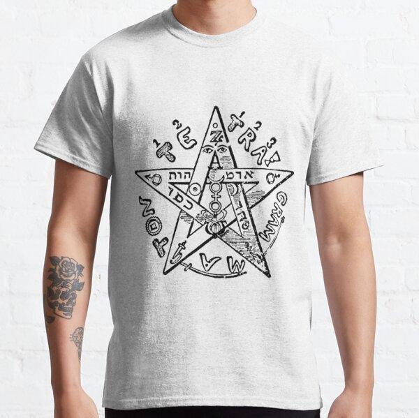 #Pentagram of #Eliphas #Levi #EliphasLeviPentagram Classic T-Shirt
