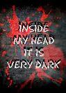 Inside my head it is very dark by Scott Mitchell