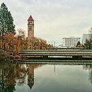 Spokane River by Susan Russell
