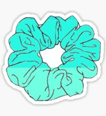 GRADIENT SCRUNCHI BLUE Sticker