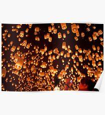 Yi Peng Lanterns Poster