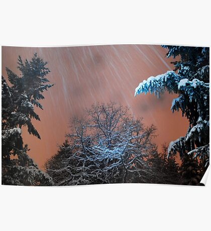 Snow Squall Poster