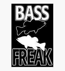 Bass Freak  Photographic Print