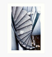 Twisted Staircase Art Print