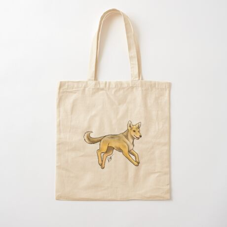 Carolina Dog Cotton Tote Bag