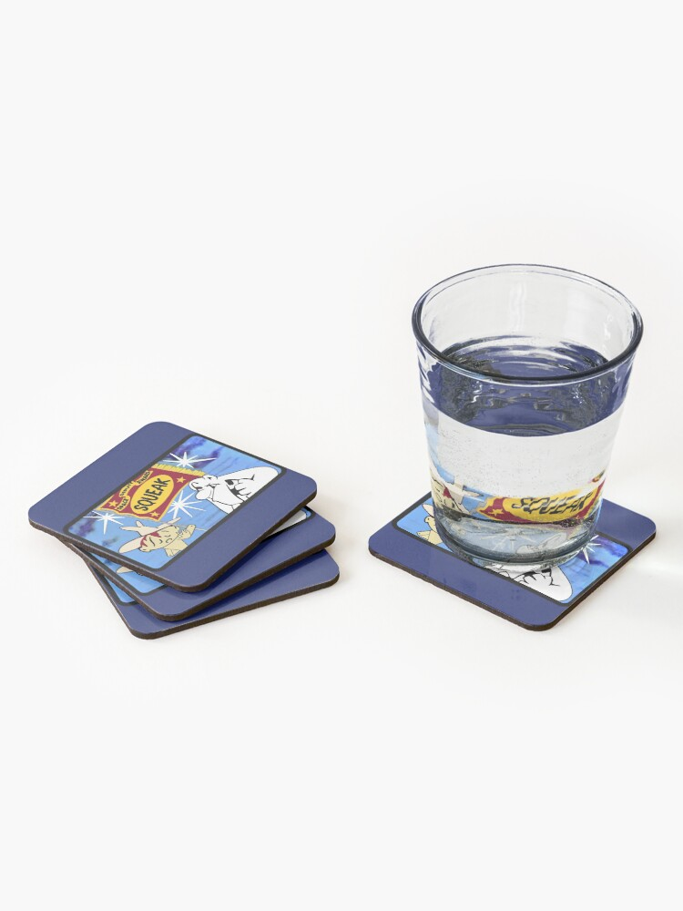 Alternate view of Space Deputy Award for Squeak Coasters (Set of 4)