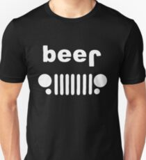 Beer Jeep Drinking T-Shirt