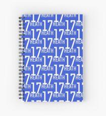 Cuaderno de espiral Tobin Heath # 17