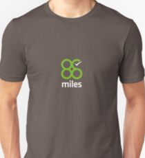 88 Miles - Simple Time Tracking Unisex T-Shirt