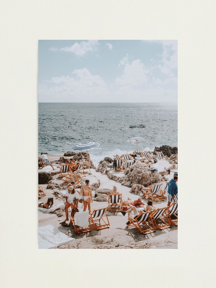 Alternate view of Capri, Italy Photographic Print
