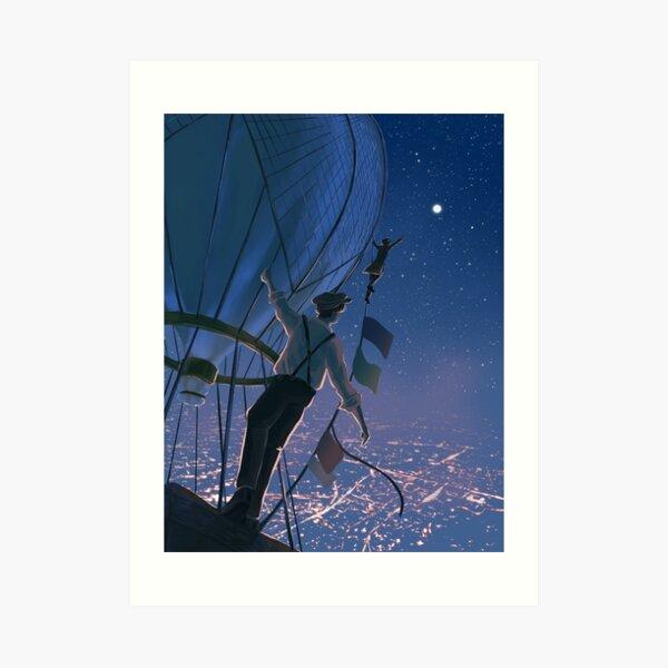 reaching for the stars Art Print