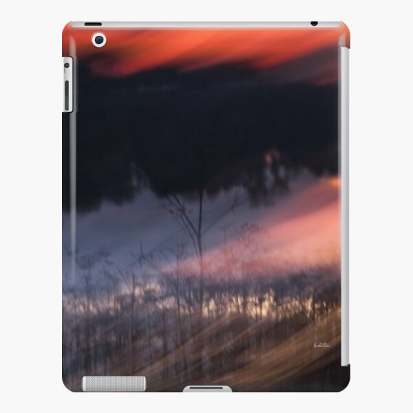 Abstract sunset photography by the river iPad Snap Case