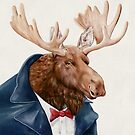 Moose in Navy Blue by AnimalCrew